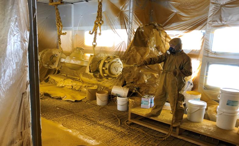 水性漆干式喷漆房改造---重工行业应用案例分享