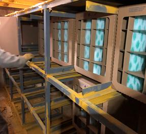 重工行业干式喷房改造应用分享
