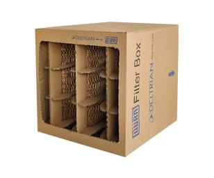 X500PV– 杜尔蜂窝纸盒过滤器